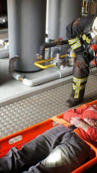 Hulp brandweer
